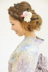 卒業式 袴 髪型 ショート ミディアム ロング 女性 3