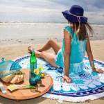 ラウンドビーチタオルのおすすめは?おしゃれで安いタオルのご紹介!