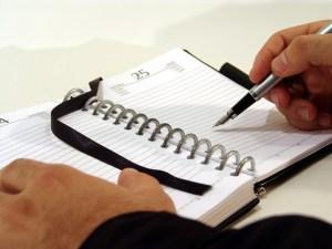 agenda writing