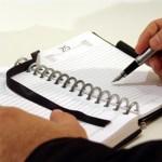 i Keep Thinking - agenda writing
