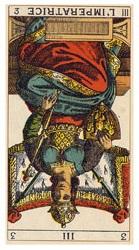 タロット女教皇(逆位置)