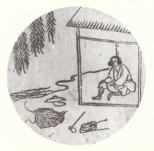 第7図.忘牛存人(牛のことを忘れる)