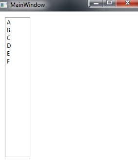Simple ListBox