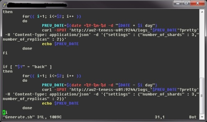 puTTY terminal color schemes