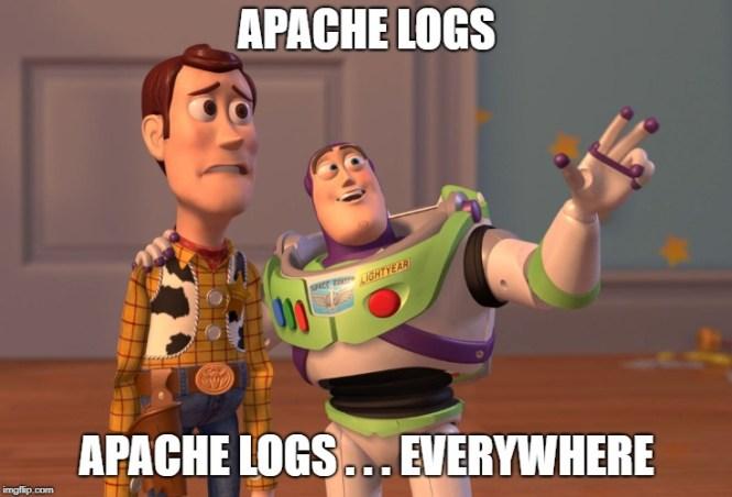 Using filebeat to ingest apache logs
