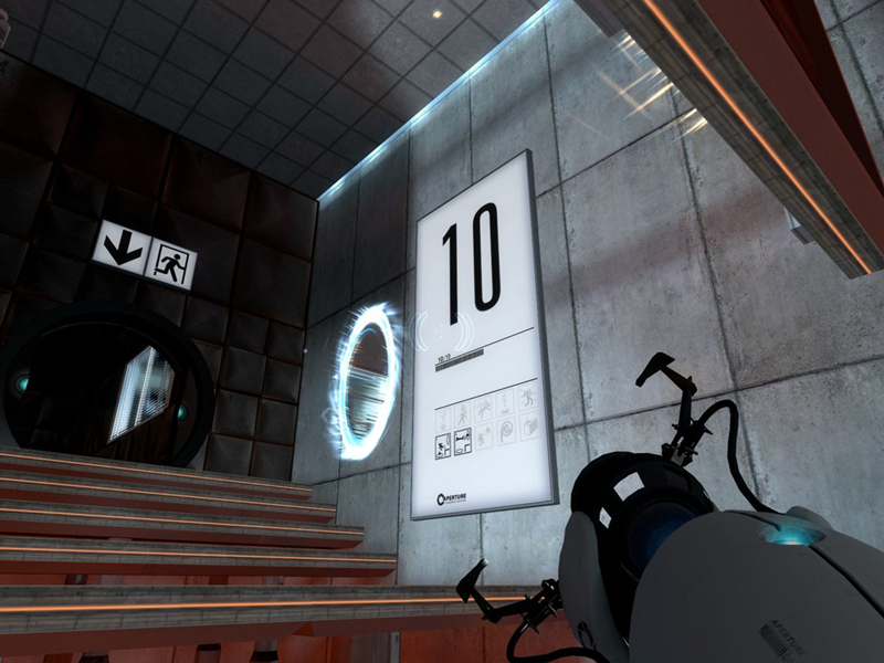 still alive: finding the lines on the mirror's edge and portal (2/2)