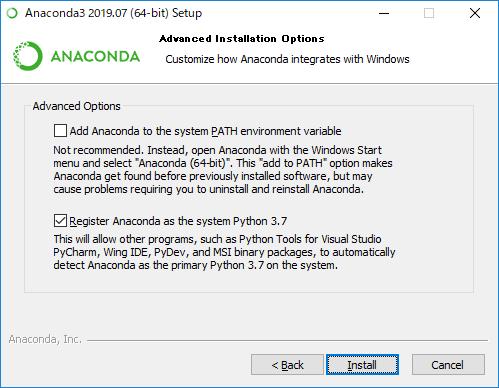 【kaggle入門】Python環境構築 Anacondaのインストール