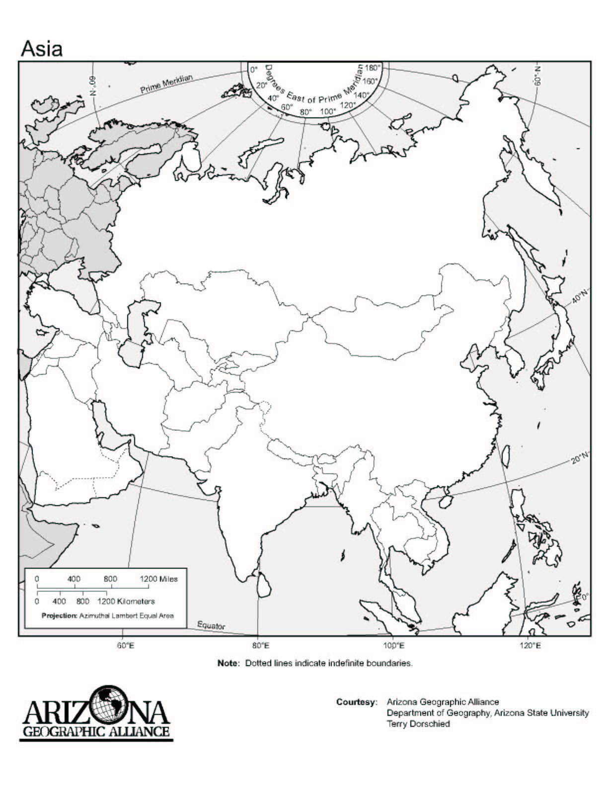 World Map Ireland Worksheet