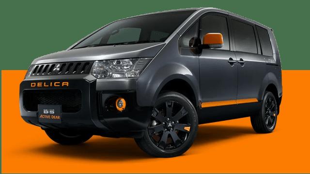 新型デリカD5特別仕様車アクティブギア画像