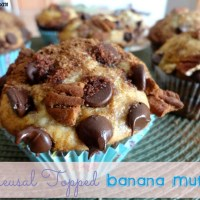 Recipe: Streusal Topped Banana Muffins