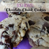 Recipe: Soft Baked Chocolate Chunk Cookies
