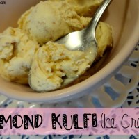 Recipe: Almond Kulfi (Ice cream)