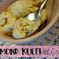 Recipe: Almond Kulfi (Ice cream)