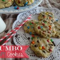 Recipe: Jumbo M&M Cookies