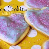 Recipe: Sugar Cookies with Butter Icing