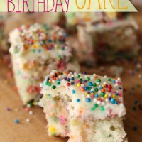 Recipe: Sprinkle Birthday Cake