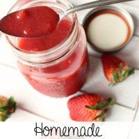 Recipe: Homemade Strawberry Sauce