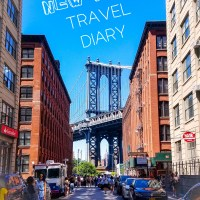 New York Travel Diary- Part 1