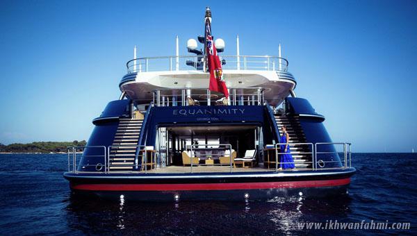 kapal equanimity untuk dijual