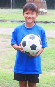 サッカー山尾(県選抜メンバーに選出された山尾さん)