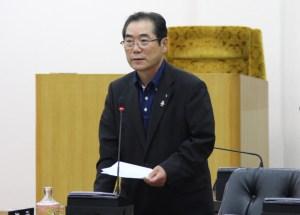 庁舎委員会(新市庁舎建設の決断を明言する白川市長)