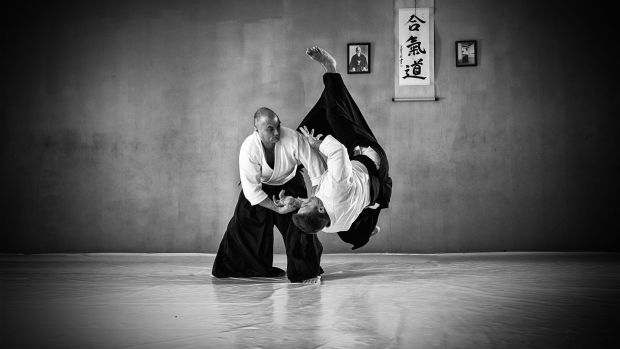 Aikido, flexibility, agility, quick reaction, protection