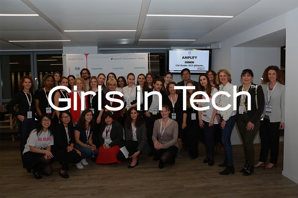 Girls in Tech – Amplify Paris 2019