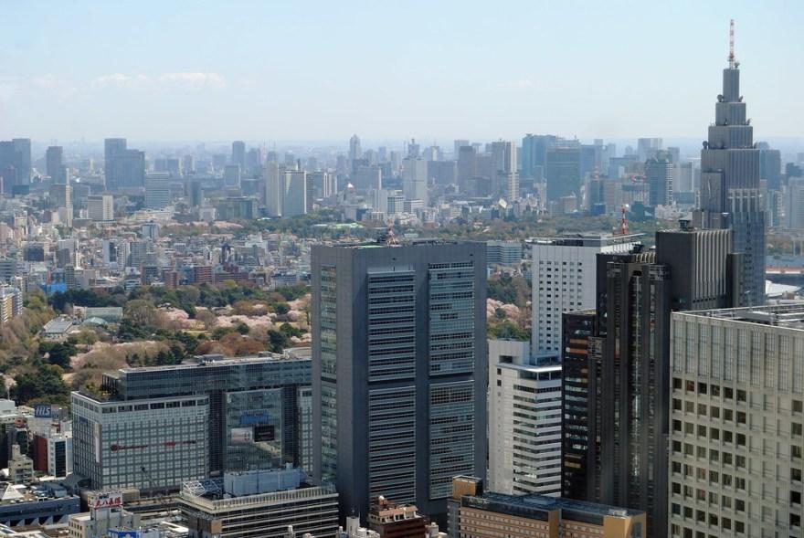 新宿都庁展望台