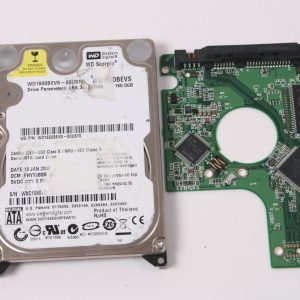 WD WD1600BEVS-00UST0 160GB 2,5 SATA HARD DRIVE / PCB (CIRCUIT BOARD) ONLY FOR DATA