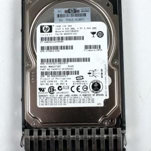 """HP 72.0GB 10K SAS 2,5"""" Harddisk & Kızak 460850-001 DG072BABCE 376597-001"""