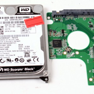 WD WD800BJKT-75F4T0 80GB 2,5 SATA HARD DRIVE / PCB (CIRCUIT BOARD) ONLY FOR DATA