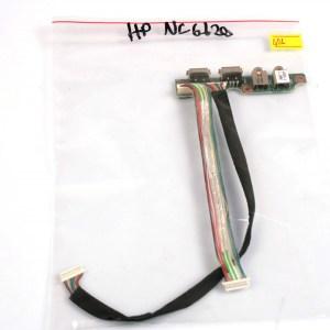 Hp Compaq nc6120 USB & Audio Port 6050A0065501-A02
