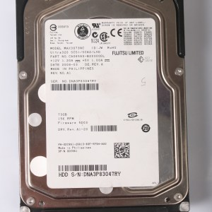 """FUJITSU 73GB 15K SCSI 80Pin 3.5"""" HARDDİSK MAX3073NC CA06560-B20300DL"""