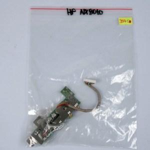 HP Compaq NX9010 ZE5300 Audio Board Jack & Metal Frame W/cable DAKT9AAB4B9