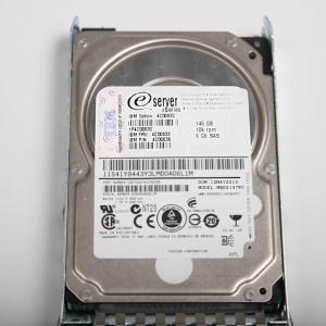 """IBM 146GB 6G 10K 2.5"""" SAS Hard Drive & Kızak 42D0633 MBD2147RC"""