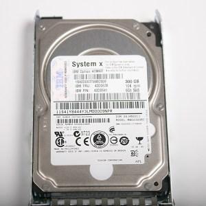 """IBM 300GB 6G 10K 2.5"""" SAS Hard Drive & Kızak  42D0638 MBD2300RC"""