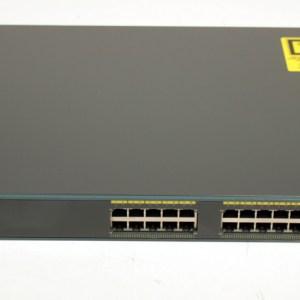 CISCO WS-C2960G-24TC-L 24 Ports 100/100  4 Port Gigabit Switch