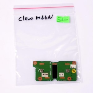 CLEVO M66N Laptop Touchpad Mouse Button Board 6-71-M66N2-D02