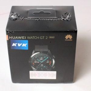 YENİ KUTUSUNDA HUAWEI Watch Gt2 46mm LTN-B19 Siyah Akıllı Saat