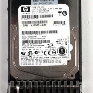 """HP 72.0GB 15K SAS 2,5"""" Harddisk & Kızak 459889-002 DH072BAAKN 432321-001"""
