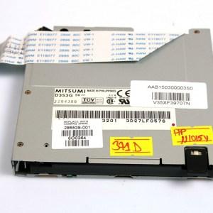 """HP Evo N1015v 1.44MB 3,5"""" Floppy Drive 285539-001, AAB1500300003S0, V35XF39707N"""