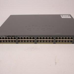 CISCO WS-C2960X-48FPS-L 48 Ports 4 SFP 740W Poe Gigabit Switch