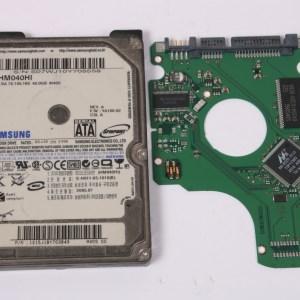 SAMSUNG HM040HI 40GB SATA 2,5 HARD DRIVE / PCB (CIRCUIT BOARD) ONLY FOR DATA