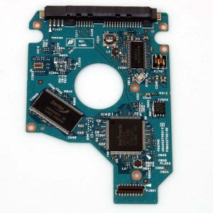 TOSHIBA MK2565GSX 250GB 2,5 SATA HARD DRIVE / PCB (CIRCUIT BOARD) ONLY FOR DATA