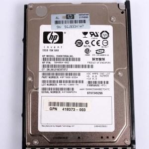 "HP 72GB 15K SAS 2,5"" 3G Harddisk & Kızak 504064-002 DH0072BALWL 418398-001"