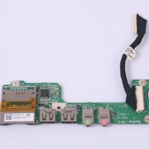 ACER Aspire One ZG5 USB & Audio Port Card Reader /W Cable DA0ZG5PB6E0