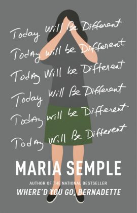 Today Will Be Different by Maria Semple ebook epub/pdf/prc/mobi/azw3 free download