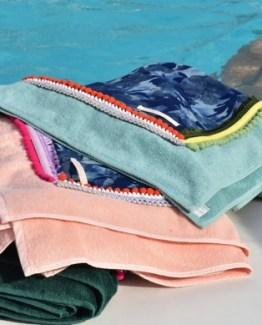 Luxury Art Hawaii Indigo Beach Towel