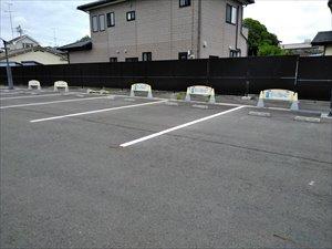 身体障害者専用の無料駐車場