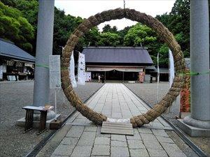 常盤神社へのアクセス路